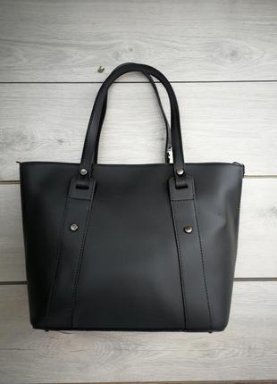 Роскошная кожаная итальянская сумка