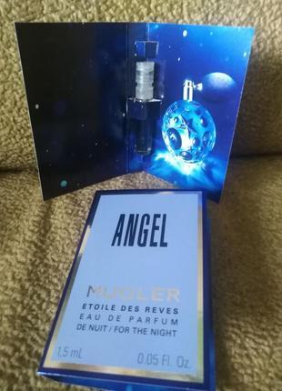 Thierry mugler angel etoile des reves eau de nuit пробник оригинал 1,5 мл