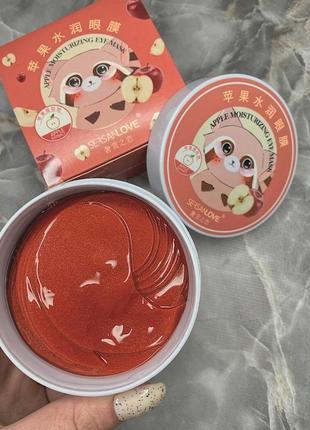 Патчи для глаз sersanlove paech с экстрактом персика (60 штук, 30 пар)