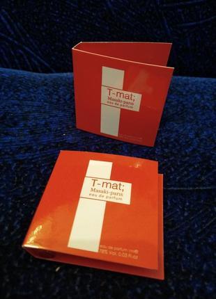 Masaki matsushima t-mat, парфюмированная вода пробник 1 мл1 фото