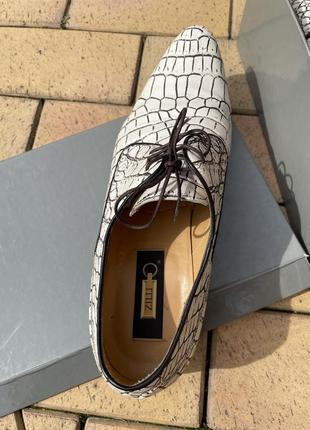 Zilli туфли крокодиловая кожа