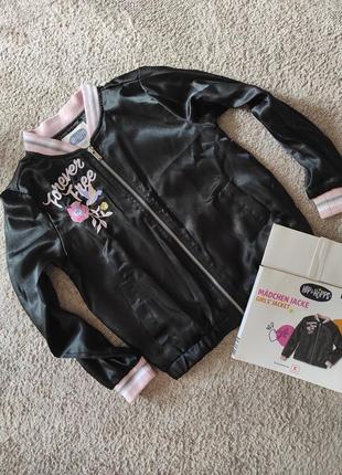 Куртка ветровка бомбер hip & hopps