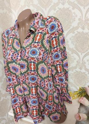 Стильная блуза из вискозы