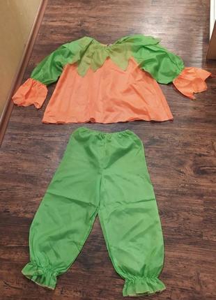 Карнавальный костюм тыква или морковка