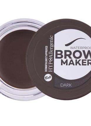 №03 тіні для брів brow maker hypo allergenic 4.8г bell
