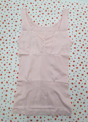 Корректирующая майка, s-м, бренд bxs, нидерланды,розовая