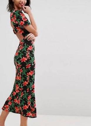 Сукня асос із відкритою спиною