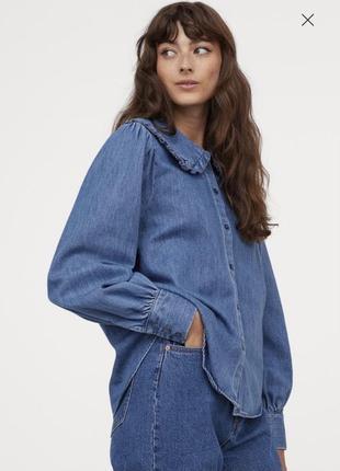 Рубашка блузка h&m л колекция весна 2021