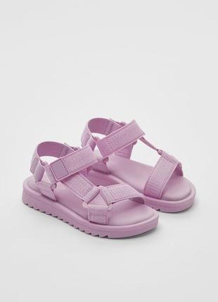 Босоножки сандали трекеры zara💖1 фото