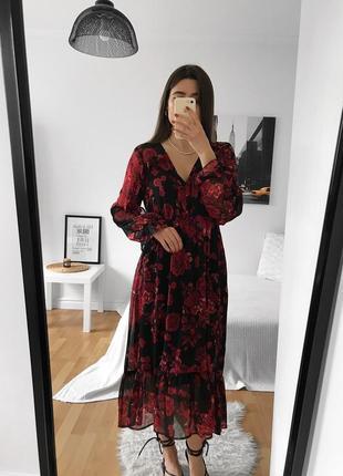 📎 шифоновое платье primark 🍓