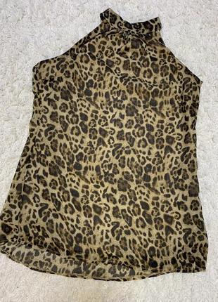 Блуза блузка без рукавов