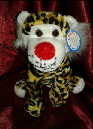 Новая игрушка мягкая леопард
