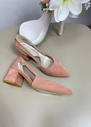 Туфли женские 🌈 любой цвет 🎨кожа замша италия