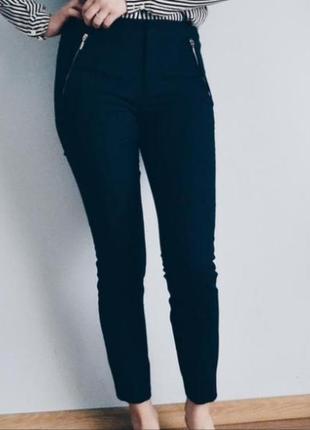 Базовые чорные брюки6 фото
