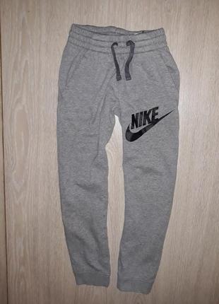Спортивные штаны nike оригинал 10-11 лет