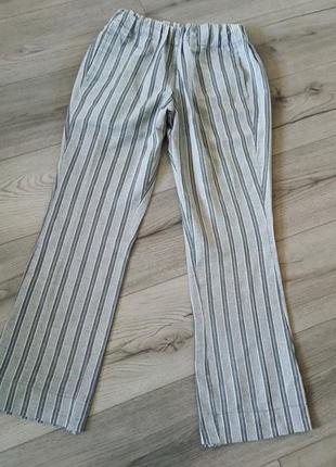Летние брюки штаны в полоску hand made