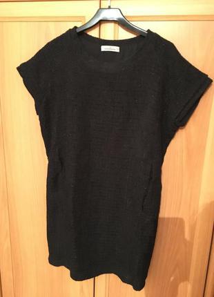 Платье в составе шерсть. с люрексовой ниткой