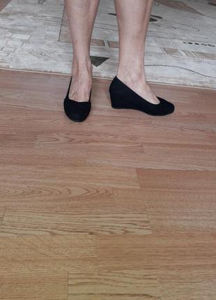 Graceland германия, оригинал! комфортные туфли на танкетке
