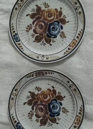 Винтажные тарелки от завода asta.