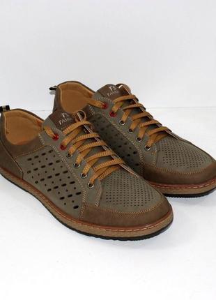 Мужские летние туфли в спортивном стиле