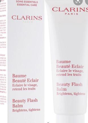 Clarins восстанавливающий бальзам моментального действия baume beauté éclair
