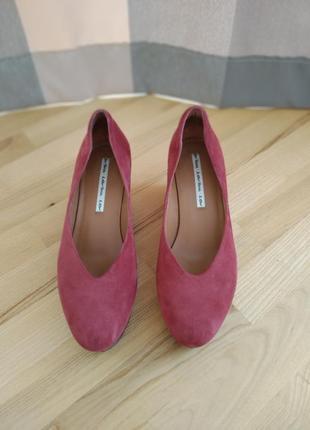 Жіночі замшеві туфельки