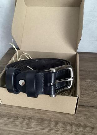 Цельный кожаный ремень two bulls&carriage (украина)