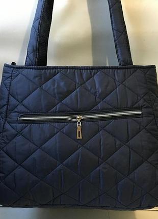 Новая женская сумка из плотной болоньи