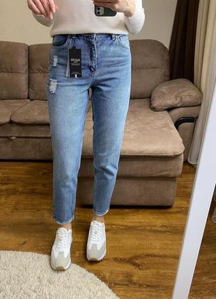 🐊 стильные джинсы мом с высокой посадкой🐊