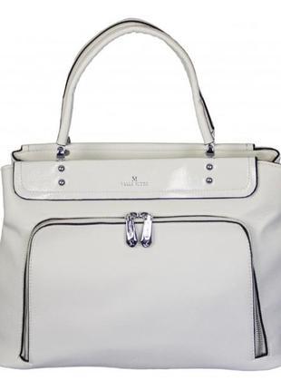 Белая женская сумка / новинка / натуральная