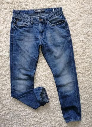 Брендовые мужские джинсы s.oliver 32/32 в нормальном состоянии