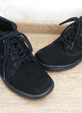Демисезонные ортопедические туфли-ботинки, р.5,5, стелька 22,5-23см