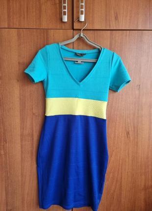 Платье мини р s бонприкс