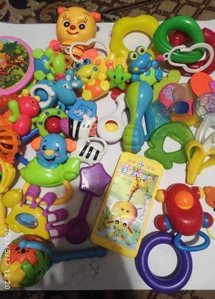 Пакет игрушек погремушек, и грызунов для малыша
