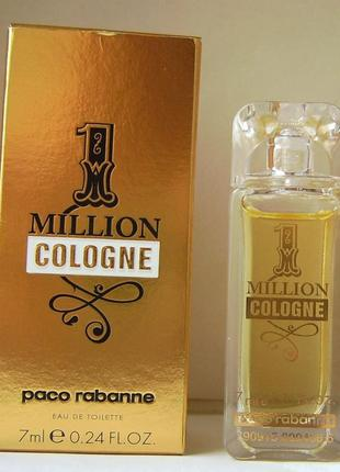 Paco rabanne 1 million cologne - edt - 5 мл.орігінал.