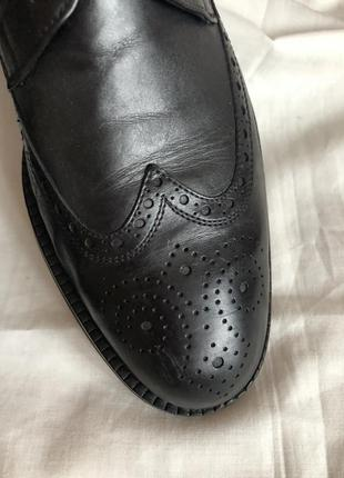 Кожаные туфли дерби luciano illara рр 413 фото