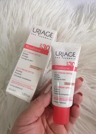 Uriage roseliane cc крем з spf 30, 40 мл
