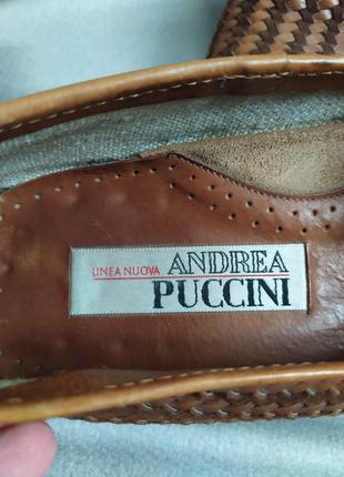 Интересные кожаные туфли, лоферы от andrea puccini3 фото