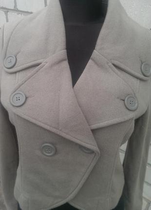Теплый пиджак, новый сток