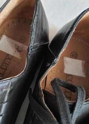 Новые туфли puccetti(мюнхен)  41 р. 27 см стелька3 фото