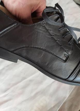 Новые туфли puccetti(мюнхен)  41 р. 27 см стелька4 фото