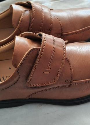 Легкие качественные туфли pavers wide fitting кожа 42 р.3 фото