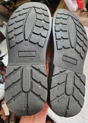 Легкие качественные туфли pavers wide fitting кожа 42 р.4 фото
