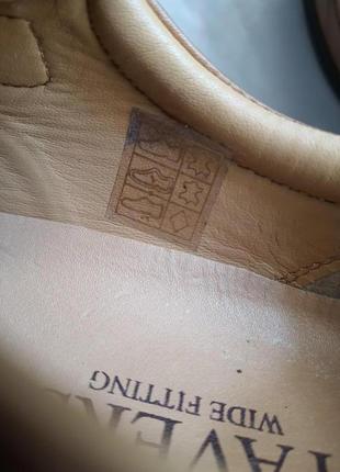 Легкие качественные туфли pavers wide fitting кожа 42 р.2 фото