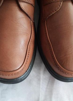 Легкие качественные туфли pavers wide fitting кожа 42 р.9 фото