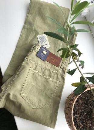 Новые легкие брюки от gant 32/34 лён+ коттон