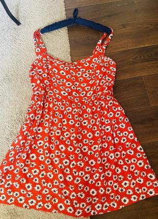 Платье сарафан штапель большой размер 20