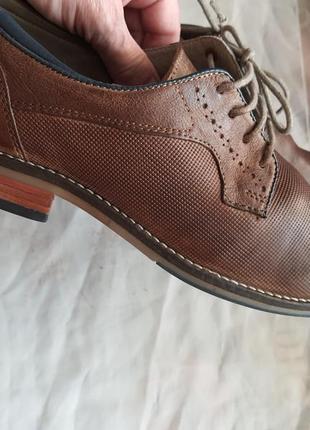 Туфли известного французского бренда san marina 41 р. натуральная кожа2 фото