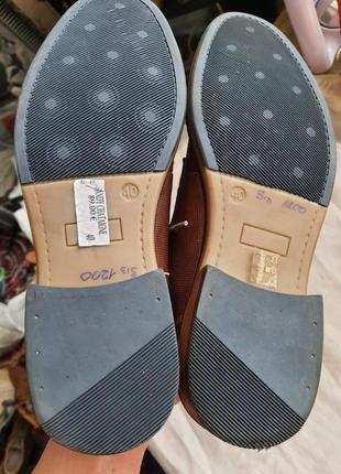 Туфли известного французского бренда san marina 41 р. натуральная кожа3 фото