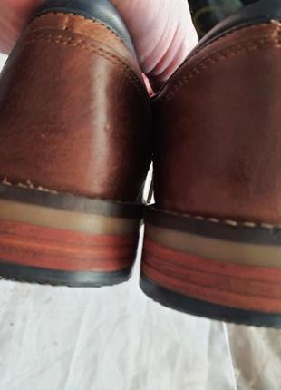 Туфли известного французского бренда san marina 41 р. натуральная кожа5 фото